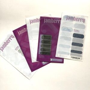 6 Jamberry Nail Decal Sets